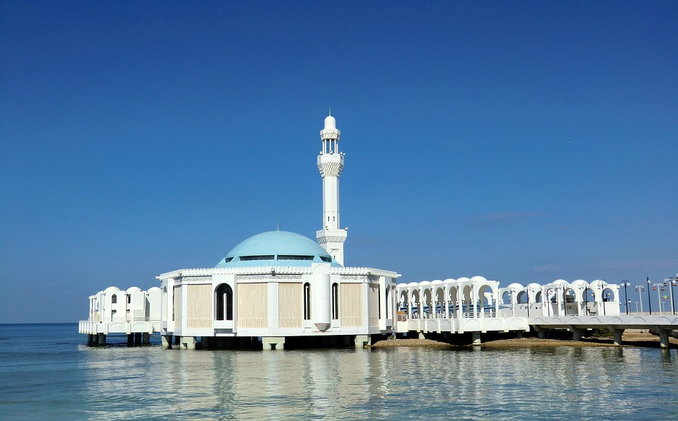 mosque in the city