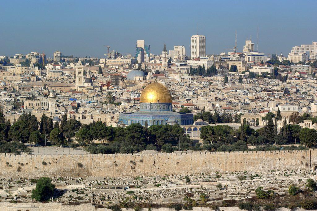 Pilgrim site for both Islam and Judaism